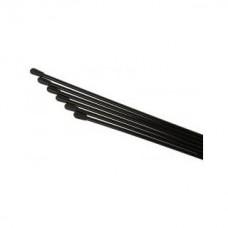 Robitronic Antenna Pipe 6pcs Black R16016B