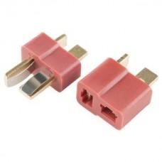 T Plug Dean Connector Male Female set