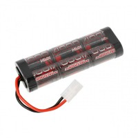 Robitronic NiMH battery 4000mAh 7.2V stick pack Tamiya plug