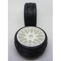 PMT Q5 - 1:8 Rally Game / GT Tires - Q5 Compound - MEDIUM - (2 pcs) - RALLY 18