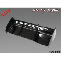 WN-005-B - M Plastic Wing (Black)