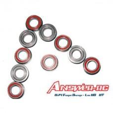 8x14Flanged Bearings Losi 8B 8T 10pk  ANSBR0814F