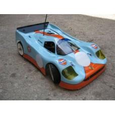 DELTA PLASTIK 0126 - PORSCHE 962 DAUER LE MANS 1/8 SCALE GT RC CAR BODY
