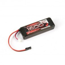 Robitronic LiFe Battery 1600mAh 2S 2 / 3A Straight Receiver Pack (EH) R05205