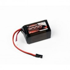 Robitronic LiFe Battery 2000mAh 2S 2 / 3A Hump Size Receiver Pack (EH) R05208