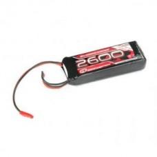 LiPo RX Pack 2/3A Straight 2600mAh 7,4V (EH) R05206