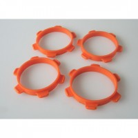 Tire mounting band 1/8 buggy orange (4) SER-600631