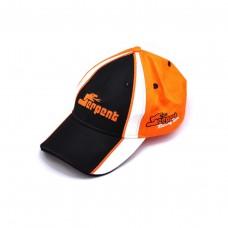 Cap Serpent orange-black