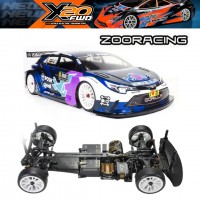Serpent X20FWD Carbon 1/10 EP (SER400035) incl. ZooRacing Gorilla