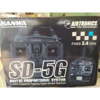 SANWA SD-5G 5-Channel 2.4GHz FHSS-1 Radio Control System